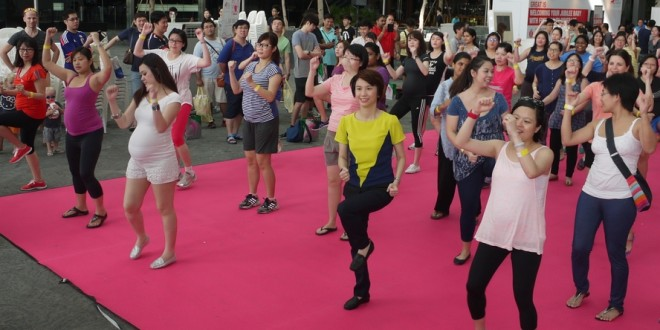 Largest Pre-Natal Exercise Class