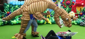 Largest Mobile Balloon Costume