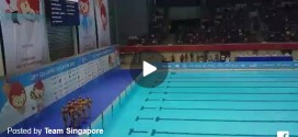 First SEA Games Synchronized Swimming Gold