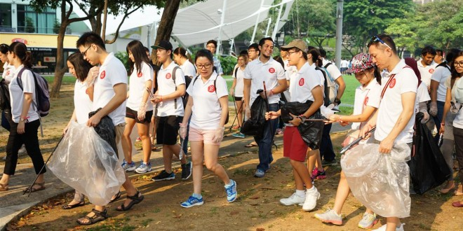 Most Number Of People In A Single-Location Mass Clean-Up