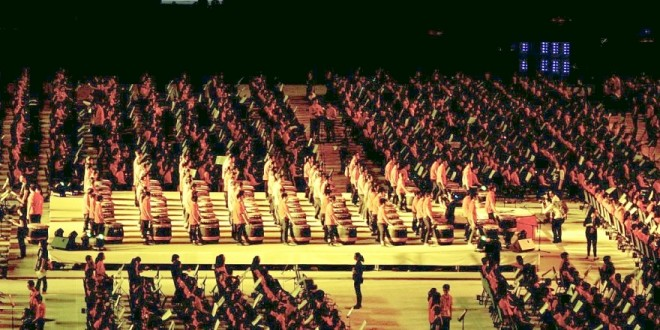 World's Largest Percussion Ensemble