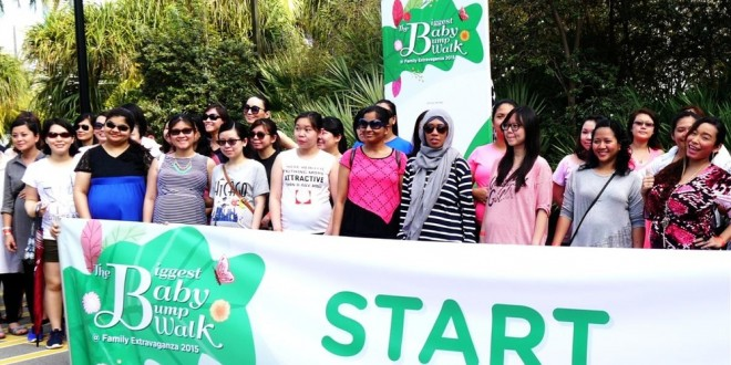 Largest Mass Walk By Pregnant Women