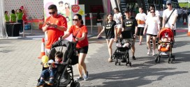 Largest Mass Walk With Strollers