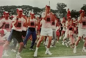 World's Largest Mass Aerobic Session