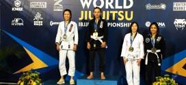 First Female Brazilian Jiu Jitsu World Medallist
