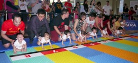 Fastest Baby Crawl (3m)