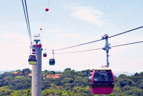 World's First Cable Car System To Span A Harbour