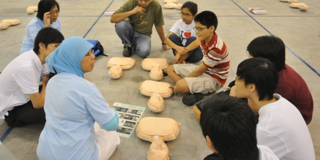 World's Largest CPR Training Session