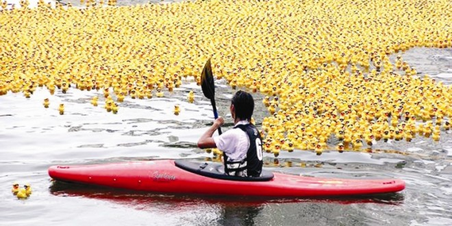 World's Largest Duck Race