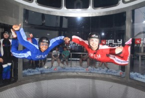 Most Skydivers In A Wind Tunnel – World Record