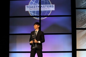 First Singaporean World Champion Of Public Speaking