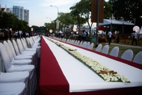 World's Longest Table