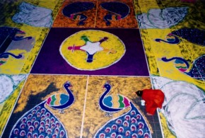 World's Largest Rangoli (Individual)