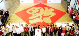 Largest Chinese Character Made Of Pineapple Tarts