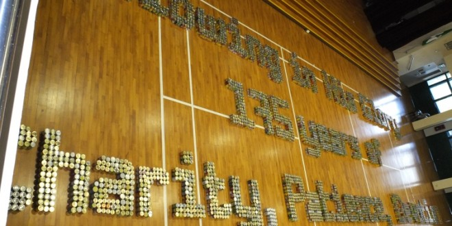 Largest Word Formation Made Of Canned Food