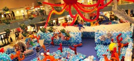 Largest Balloon Tunnel & Largest Single Sculpture Made Of Balloons