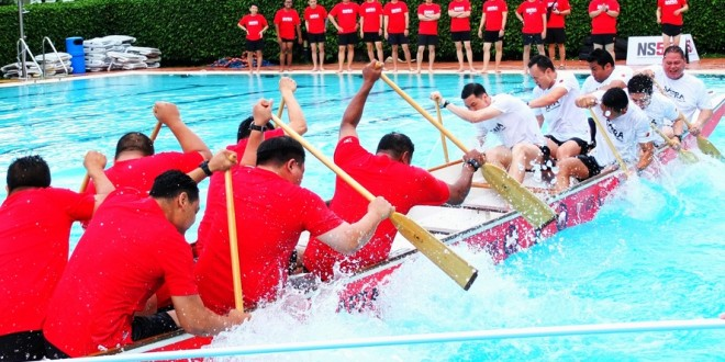 Largest Dragon Boat Tug-Of-War Competition