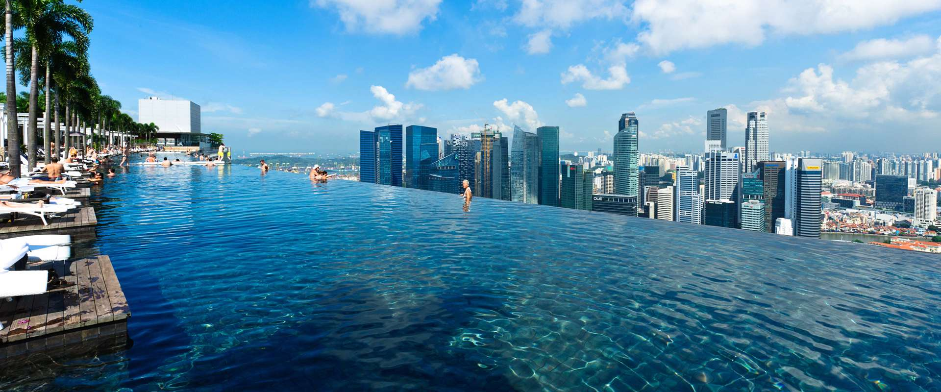 World S Largest Infinity Pool Singapore Book Of Records