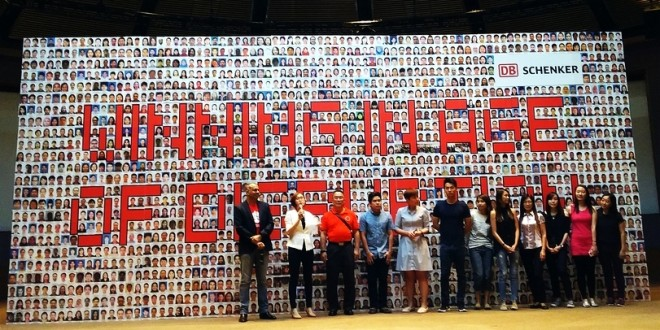 Largest Photo Pledge Wall