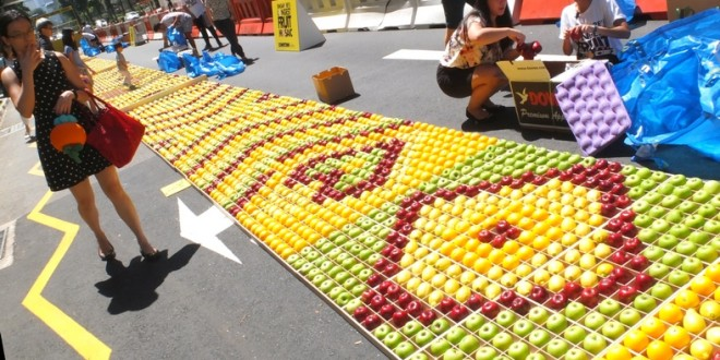 Longest Fruit Mosaic
