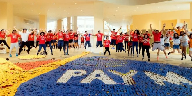 Largest Logo Made Of Canned Food
