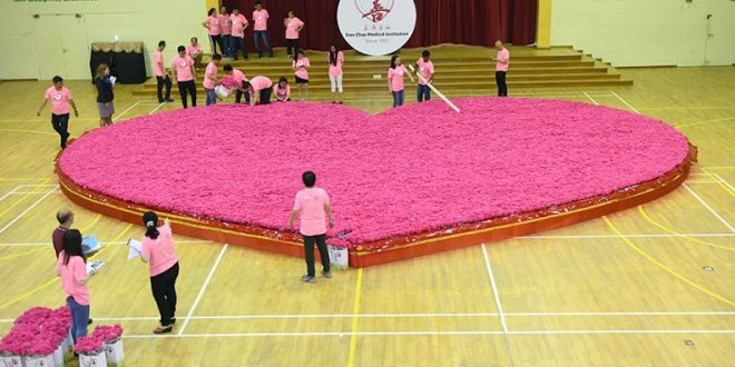 World's Largest Artificial Flower Bouquet