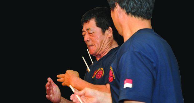 Most Number Of Chopsticks Broken On The Neck