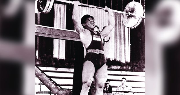 First Olympic Medallist
