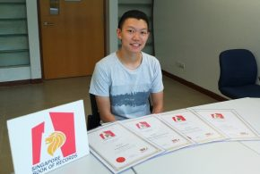 Kenneth Tan Broke 4 Memory Records