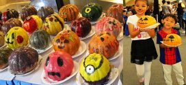 Largest Display Of Painted Pumpkins