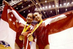 First SEA Games Joint Gold Medallists