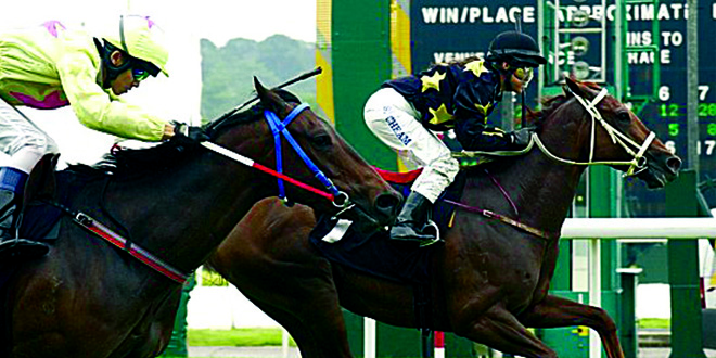 First Woman Jockey In Singapore Gold Cup