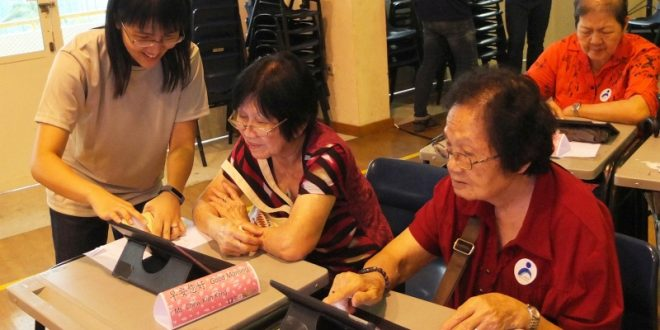 Largest Mobile Skills Workshop For Senior Citizens