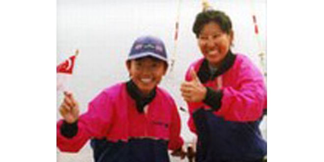 First Asian Games Sailing Golds