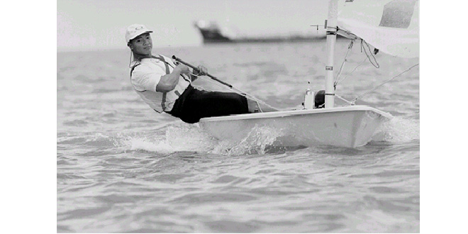 First Asian Games Sailing Gold Medallist