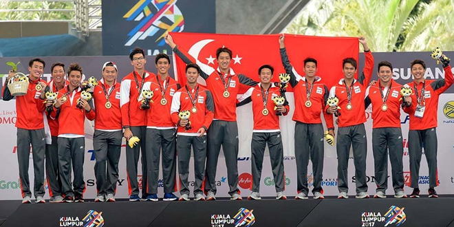 Most Team Golds At SEA Games