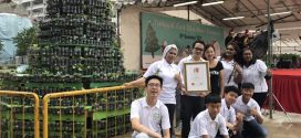 Tallest Christmas Tree Made Of Bottled Plants
