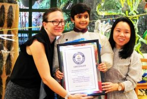 Youngest To Write A Bilingual Book