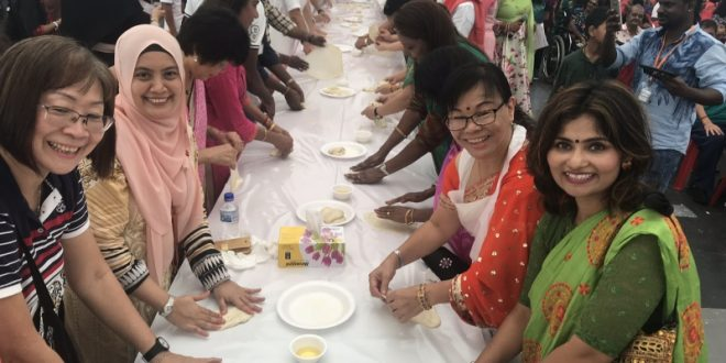 Most Number Of People Making Roti Prata Together