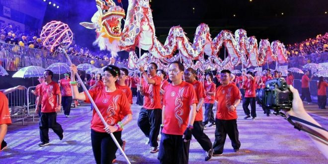Longest LED Dragon Dance