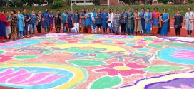 Largest Rangoli Made Of Sago