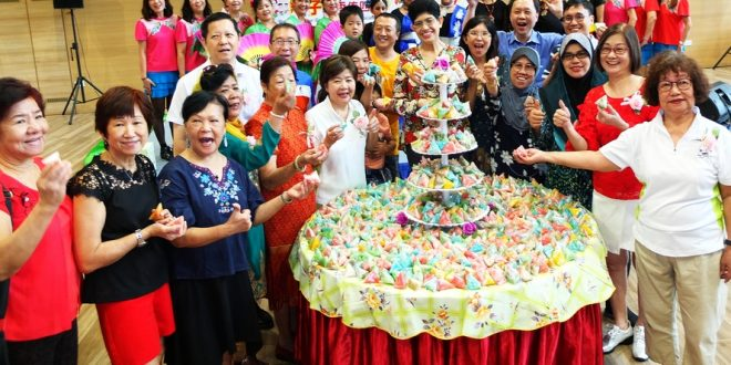 Largest Display Of Multi-Coloured Dumplings
