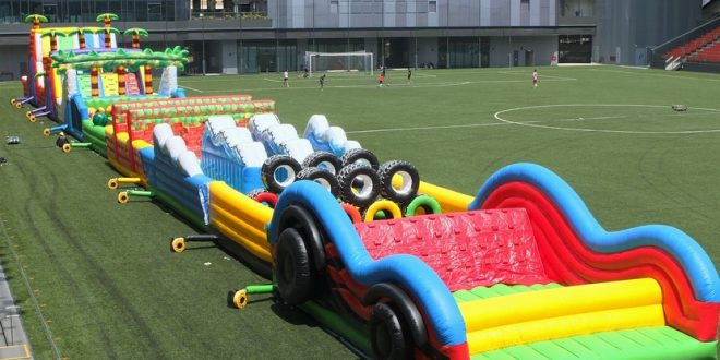 Largest Inflatable Playground