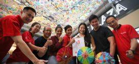 Largest Display Of Batik Umbrellas