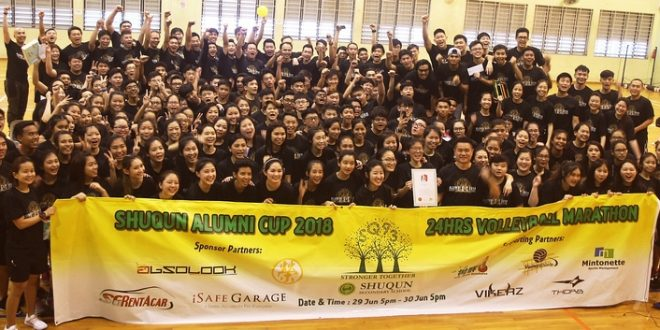 Largest Volleyball Tournament Held Over 24 Hr