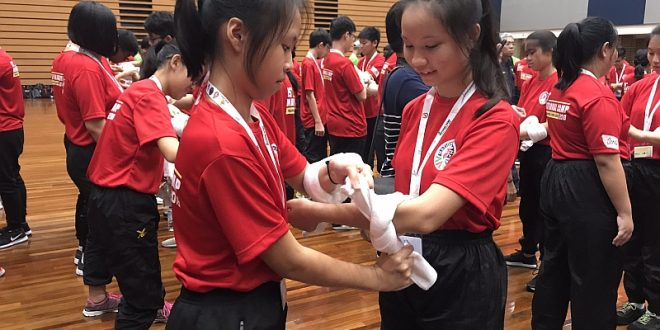 Largest Demonstration of Bleeding Control in First Aid