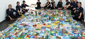 Largest Art Montage Made Of Recycled Materials