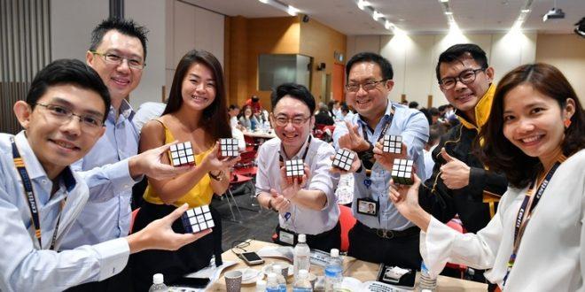 Largest Rubik's Cube Training Workshop
