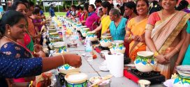 Largest Mass Pongal Cooking