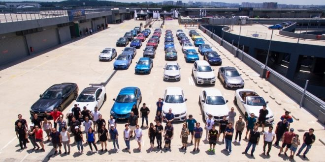 Largest Gathering Of BMW M Cars
